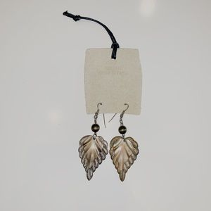Urban Outfitters Leaf Earrings